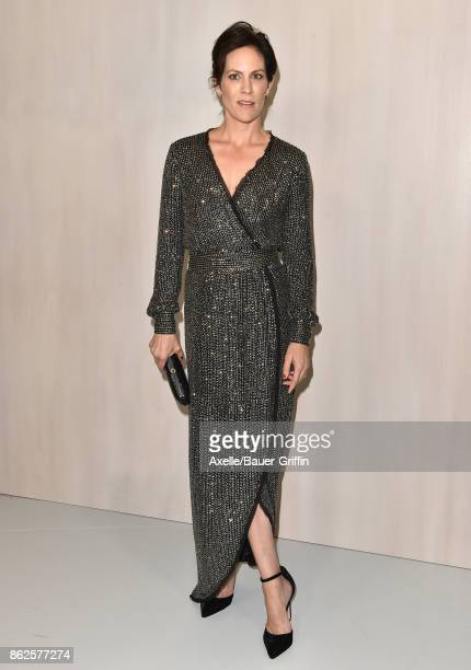 Actress Annabeth Gish arrives at Hammer Museum Gala in the Garden on October 14 2017 in Westwood California