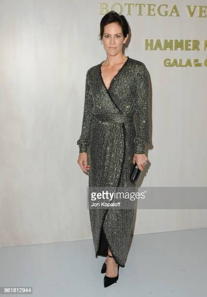 Actress Annabeth Gish arrives at the Hammer Museum Gala In The Garden at Hammer Museum on October 14 2017 in Westwood California