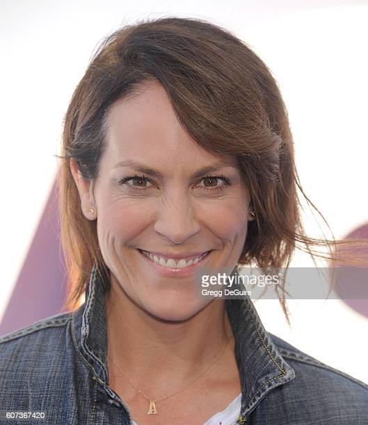 Actress Annabeth Gish arrives at the premiere of Warner Bros Pictures' Storks at Regency Village Theatre on September 17 2016 in Westwood California