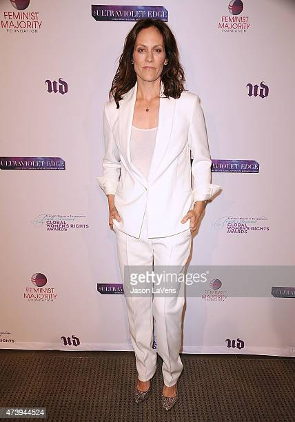 Actress Annabeth Gish attends the 10th annual Global Women's Rights Awards at Pacific Design Center on May 18 2015 in West Hollywood California
