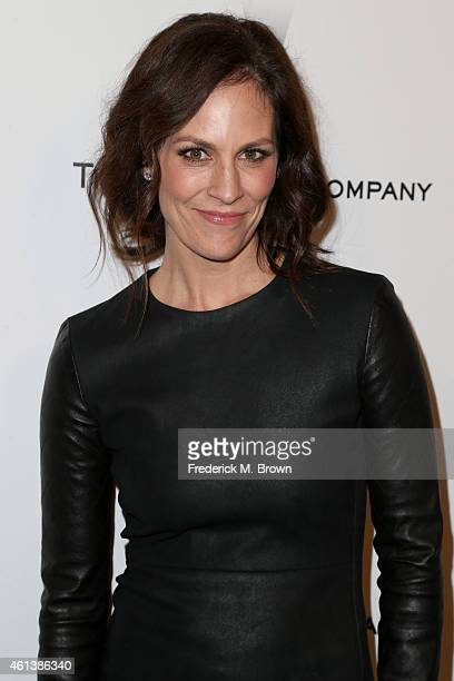Actress Annabeth Gish attends the 2015 Weinstein Company and Netflix Golden Globes After Party at Robinsons May Lot on January 11 2015 in Beverly...