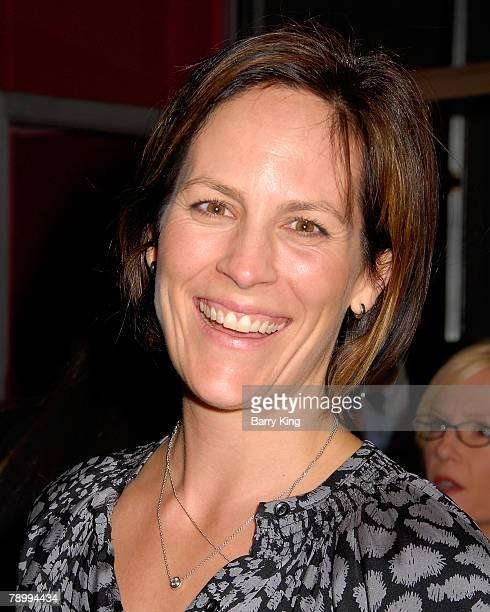 Actress Annabeth Gish attends the Los Angeles premiere of The Business of Being Born held at the Fine Arts Theatre on January 14 2008 in Beverly...