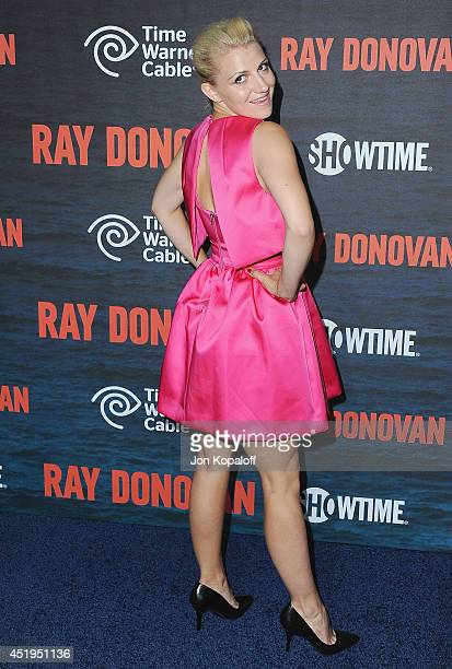 Actress Annaleigh Ashford arrives at Showtime's Original Series 'Ray Donovan' Season 2 Premiere at Nobu Malibu on July 9 2014 in Malibu California