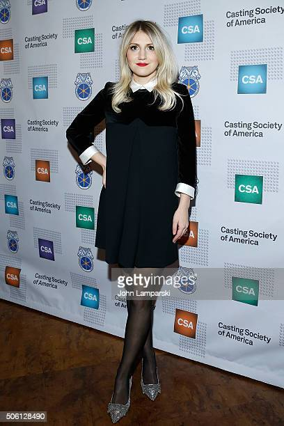 Actress Annaleigh Ashford attends 31st Annual Artios Awards at Hard Rock Cafe Times Square on January 21 2016 in New York City