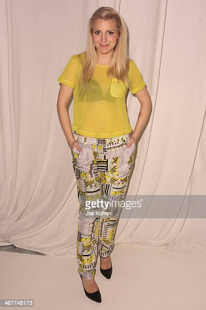 Actress Annaleigh Ashford attends Novis Presentation durin MercedesBenz Fashion Week Fall 2014 at 404 NYC on February 7 2014 in New York City