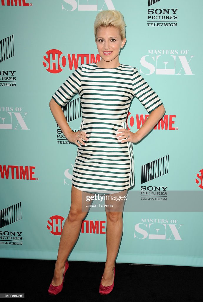 Actress Annaleigh Ashford attends the 'Master of Sex' TCA event at Sony Pictures Studios on July 16, 2014 in Culver City, California.