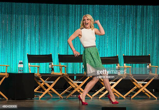 Actress Annaleigh Ashford attends The Paley Center For Media's PaleyFest 2014 Honoring 'Masters Of Sex' at Dolby Theatre on March 24 2014 in...