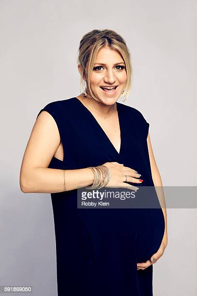 Actress Annaleigh Ashford from FOX's 'The Rocky Horror Picture Show' poses for a portrait at the FOX Summer TCA Press Tour at Soho House on August 9...