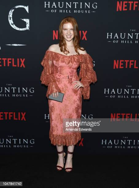 Actress Annalise Basso arrives at Netflix's 'The Haunting Of Hill House' Season 1 Premiere at ArcLight Hollywood on October 8 2018 in Hollywood...