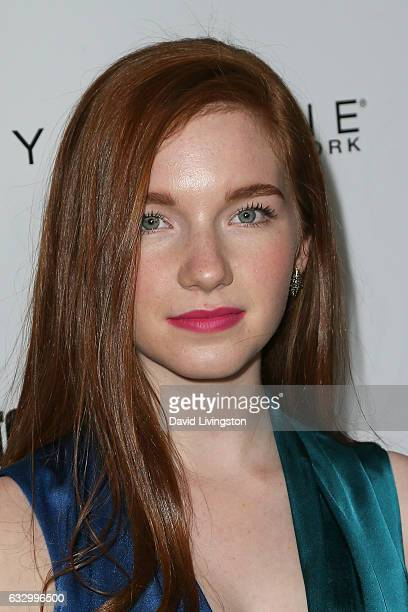 Actress Annalise Basso arrives at the Entertainment Weekly celebration honoring nominees for The Screen Actors Guild Awards at the Chateau Marmont on...