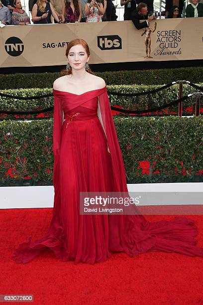 Actress Annalise Basso attends the 23rd Annual Screen Actors Guild Awards at The Shrine Expo Hall on January 29 2017 in Los Angeles California