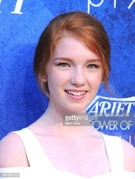 Actress Annalise Basso attends Variety's Power of Young Hollywood event presented by Pixhug with platinum sponsor Vince Camuto at NeueHouse Hollywood...