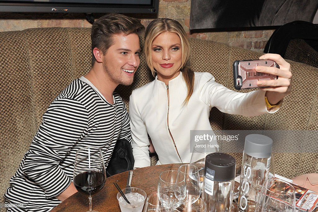 Actress AnnaLynne McCord and guest attend ChefDance Park City 2016 Presented By Velocity - Night 3 on January 24, 2016 in Park City, Utah.