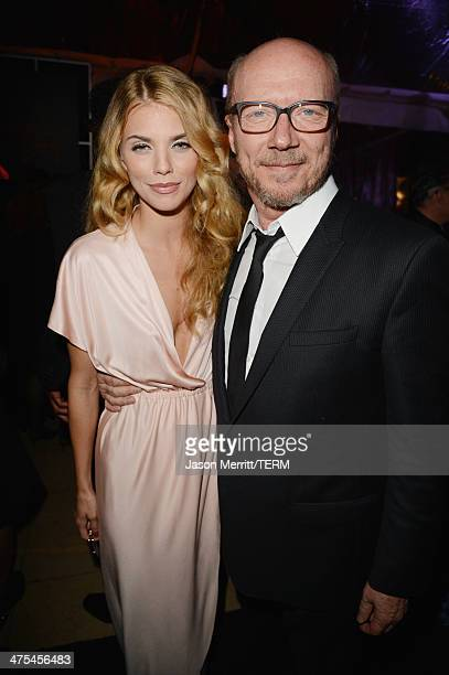 Actress AnnaLynne McCord and writer Paul Haggis attend the 7th Annual Hollywood Domino and Bovet 1822 Gala benefiting artists for peace and justice...
