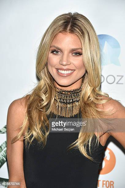 Actress AnnaLynne McCord arrives at Not For Sale x Z Shoes Benefit at Estrella Sunset on December 9, 2016 in West Hollywood, California.