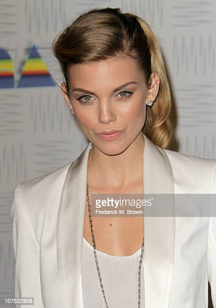 Actress AnnaLynne McCord arrives at Spike TV's 2010 Video Game Awards held at the LA Convention Center on December 11 2010 in Los Angeles California