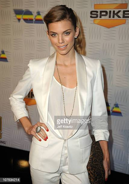 """Actress AnnaLynne McCord arrives at Spike TV's """"2010 Video Game Awards"""" held at the LA Convention Center on December 11, 2010 in Los Angeles,..."""