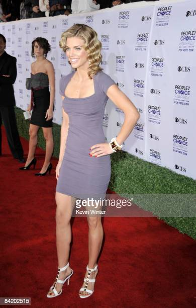 Actress AnnaLynne McCord arrives at the 35th Annual People's Choice Awards held at the Shrine Auditorium on January 7 2009 in Los Angeles California