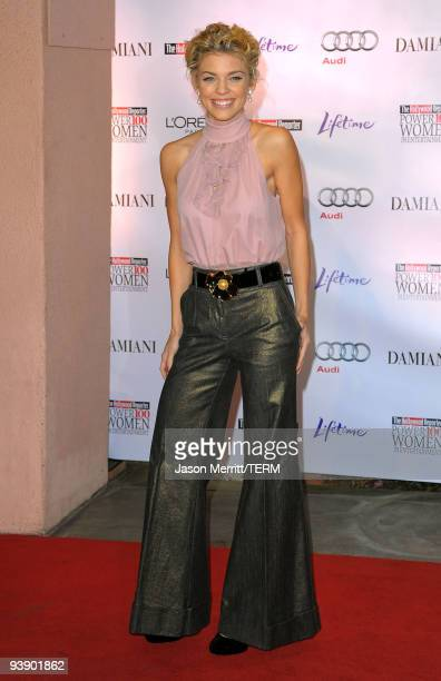 Actress AnnaLynne McCord arrives at the Hollywood Reporter's Annual Women in Entertainment Breakfast held at the Beverly Hills Hotel on December 4...