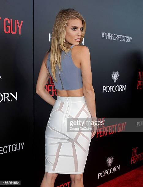 Actress AnnaLynne McCord arrives at the premiere of Screen Gems' The Perfect Guy at The WGA Theater on September 2 2015 in Beverly Hills California