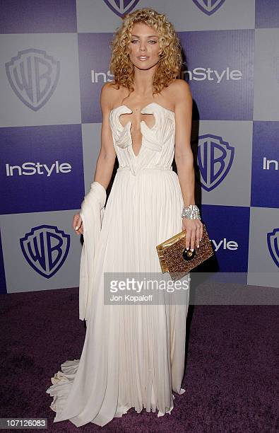 Actress AnnaLynne McCord arrives at the Warner Brothers/InStyle Golden Globes After Party at The Beverly Hilton Hotel on January 17 2010 in Beverly...