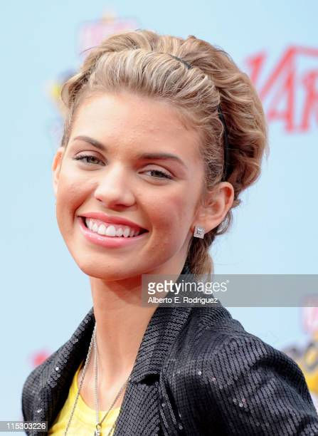 Actress AnnaLynne McCord arrives at Variety's 3rd annual Power of Youth event held at Paramount Studios on December 5 2009 in Los Angeles California