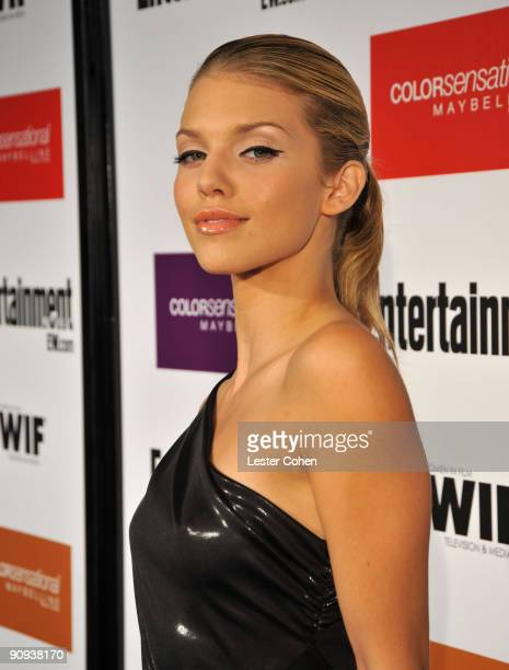 Actress AnnaLynne McCord arrives to the Entertainment Weekly and Women in Film preEmmy Party presented by Maybelline Colorsensational held at...