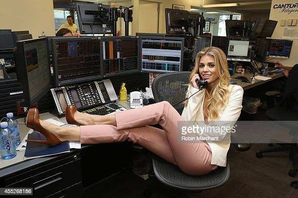 Actress AnnaLynne McCord attends Annual Charity Day Hosted By Cantor Fitzgerald And BGC at Cantor Fitzgerald on September 11 2014 in New York City