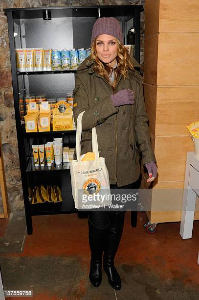 Actress AnnaLynne McCord attends Day 2 of the Variety Studio during the 2012 Sundance Film Festival held at Variety Studio At Sundance on January 22...