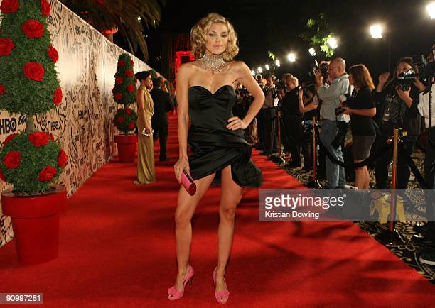 Actress AnnaLynne McCord attends HBO's post Emmy Awards reception at the Pacific Design Center on September 20 2009 in West Hollywood California