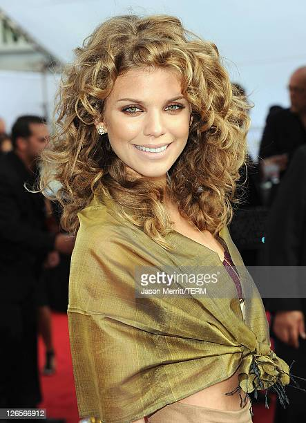 Actress AnnaLynne McCord attends IRIS A Journey Through the World of Cinema by Cirque du Soleil premiere Sunday September 25 2011 exclusively at...