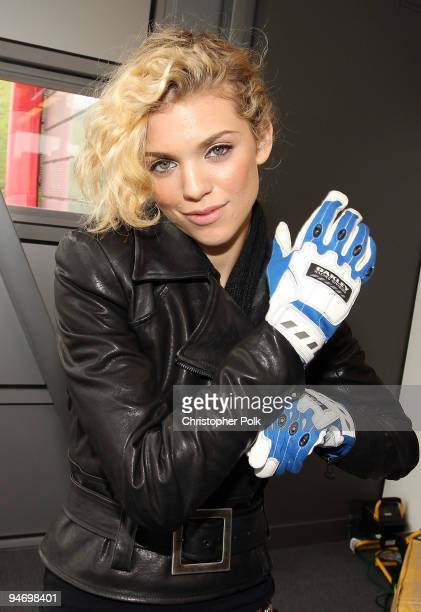 """Actress AnnaLynne McCord attends Oakley Presents """"Learn to Ride"""" with the Audi Sportscar Experience fueled by Muscle Milk at Infineon Raceway on..."""