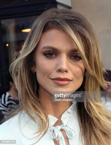 Actress AnnaLynne McCord attends Rebecca Minkkoff's 'See Now Buy Now' fashion show at The Grove on February 4 2017 in Los Angeles California