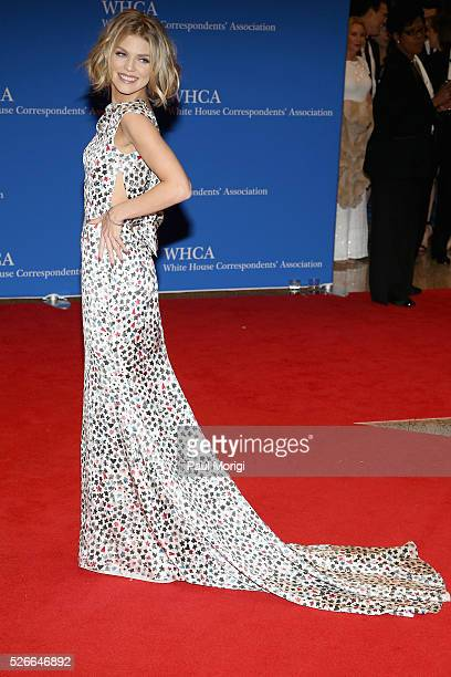 Actress AnnaLynne McCord attends the 102nd White House Correspondents' Association Dinner on April 30 2016 in Washington DC
