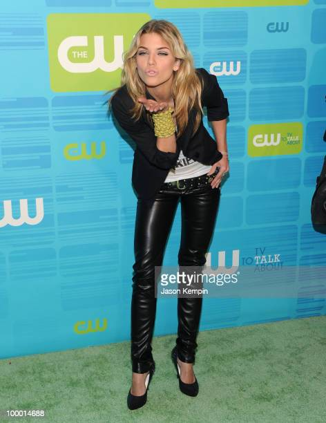 Actress AnnaLynne McCord attends the 2010 The CW Network UpFront at Madison Square Garden on May 20 2010 in New York City