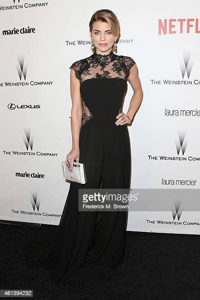Actress AnnaLynne McCord attends the 2015 Weinstein Company and Netflix Golden Globes After Party at Robinsons May Lot on January 11 2015 in Beverly...