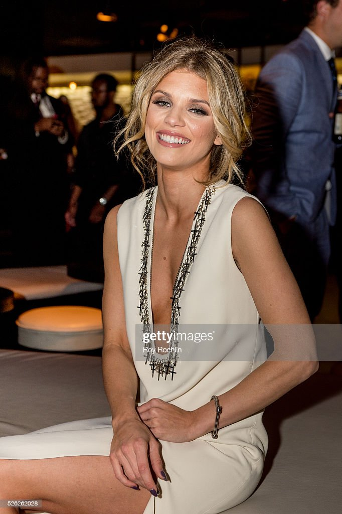 Actress AnnaLynne McCord attends The Creative Coalition's Night Before Dinner at The Supper Suite by STK on April 29, 2016 in Washington, DC.