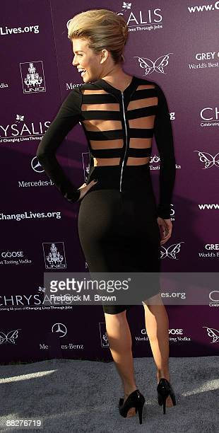 Actress AnnaLynne McCord attends the eighth annual Chrysalis Butterfly Ball at the estate of Susan Harris and Hayward Kaiser on June 6 2009 in Los...