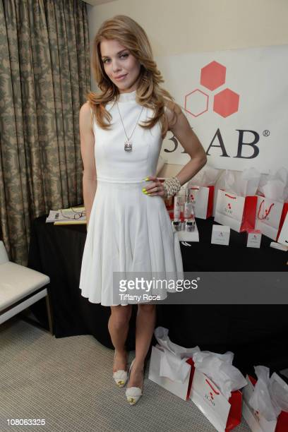 Actress AnnaLynne McCord attends the GBK Golden Globes Gift Lounge at The London Hotel on January 15 2011 in West Hollywood California
