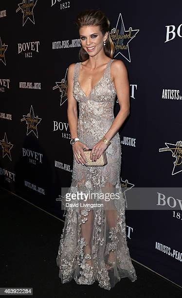Actress AnnaLynne McCord attends the Hollywood Domino Bovet 1822's 8th Annual PreOscar Hollywood Domino Gala Tournament at Sunset Tower Hotel on...