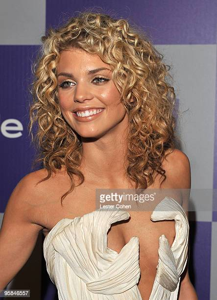 Actress AnnaLynne McCord attends the InStyle and Warner Bros 67th Annual Golden Globes post party held at the Oasis Courtyard at The Beverly Hilton...
