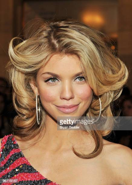 Actress AnnaLynne McCord attends the Jill Stuart Fall 2010 Fashion Show during MercedesBenz Fashion Week at the New York Public Library on February...