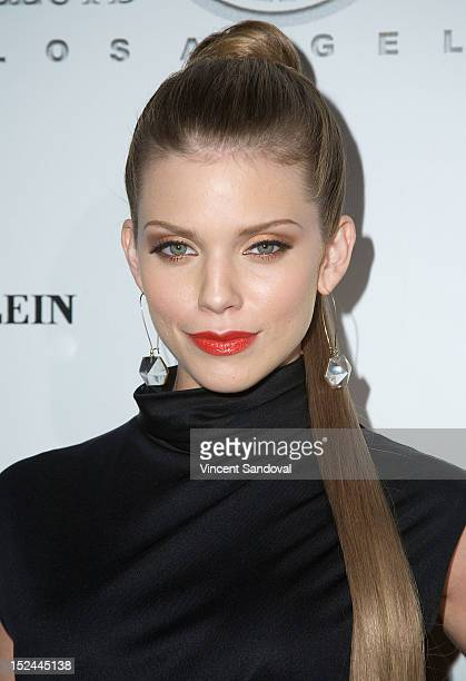 Actress AnnaLynne McCord attends the Lloyd Klein Spring 2013 Collection Preview at Lure on September 20 2012 in Hollywood California