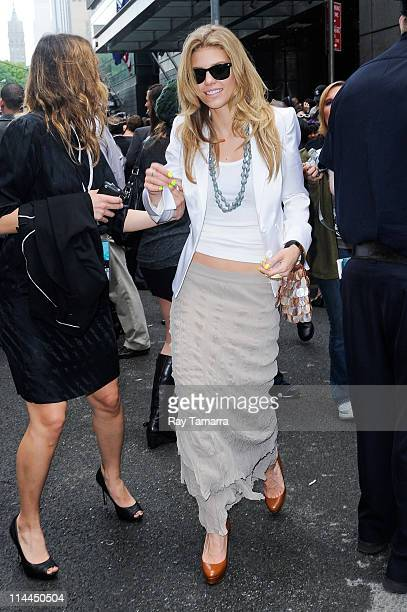 Actress AnnaLynne McCord leaves Jazz At Lincoln Center on May 19 2011 in New York City