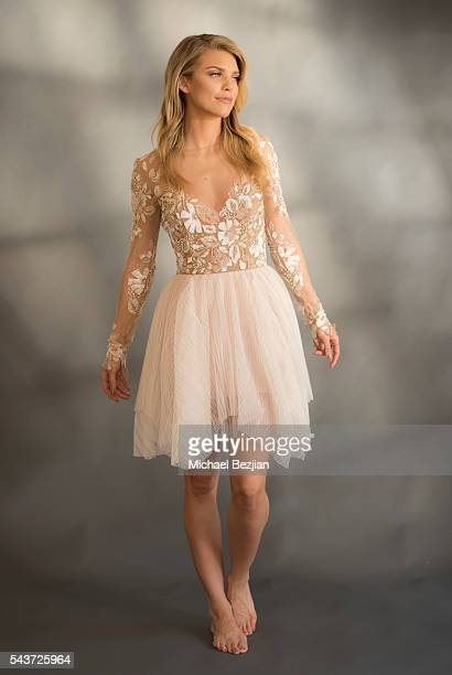 Actress AnnaLynne McCord poses for portrait at The Starving Artists Project on June 29 2016 in Los Angeles California