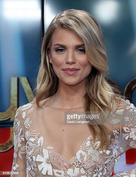 Actress AnnaLynne McCord visits Hollywood Today Live at W Hollywood on June 29 2016 in Hollywood California