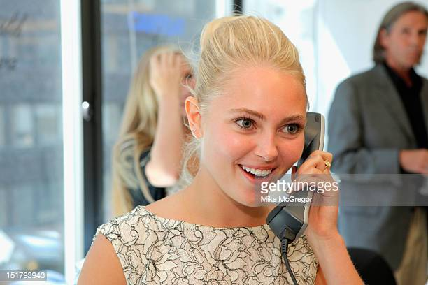 Actress AnnaSophia Robb attends Cantor Fitzgerald BGC Partners host annual charity day on 9/11 to benefit over 100 charities worldwide at Cantor...