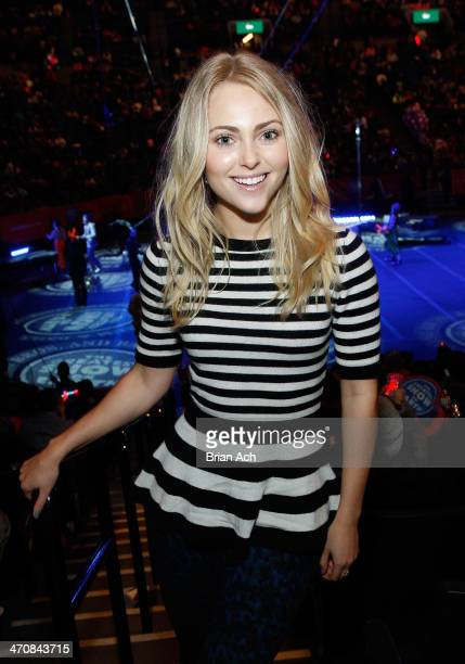 Actress AnnaSophia Robb attends Ringling Bros and Barnum Bailey presents Legends at Barclays Center of Brooklyn on February 20 2014 in New York City