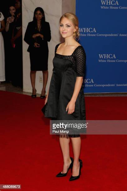Actress AnnaSophia Robb attends the 100th Annual White House Correspondents' Association Dinner at the Washington Hilton on May 3 2014 in Washington...