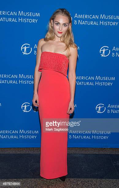 Actress AnnaSophia Robb attends the 2015 American Museum Of Natural History Museum Gala at American Museum of Natural History on November 19 2015 in...